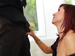 Hungry older is desirous to get throat and whoppers fucked hard